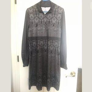 PRANA Women's Damask Print Long Dress XL